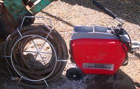 Cheltenham equipment for blocked drain